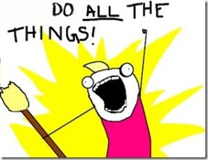 Me, every week.